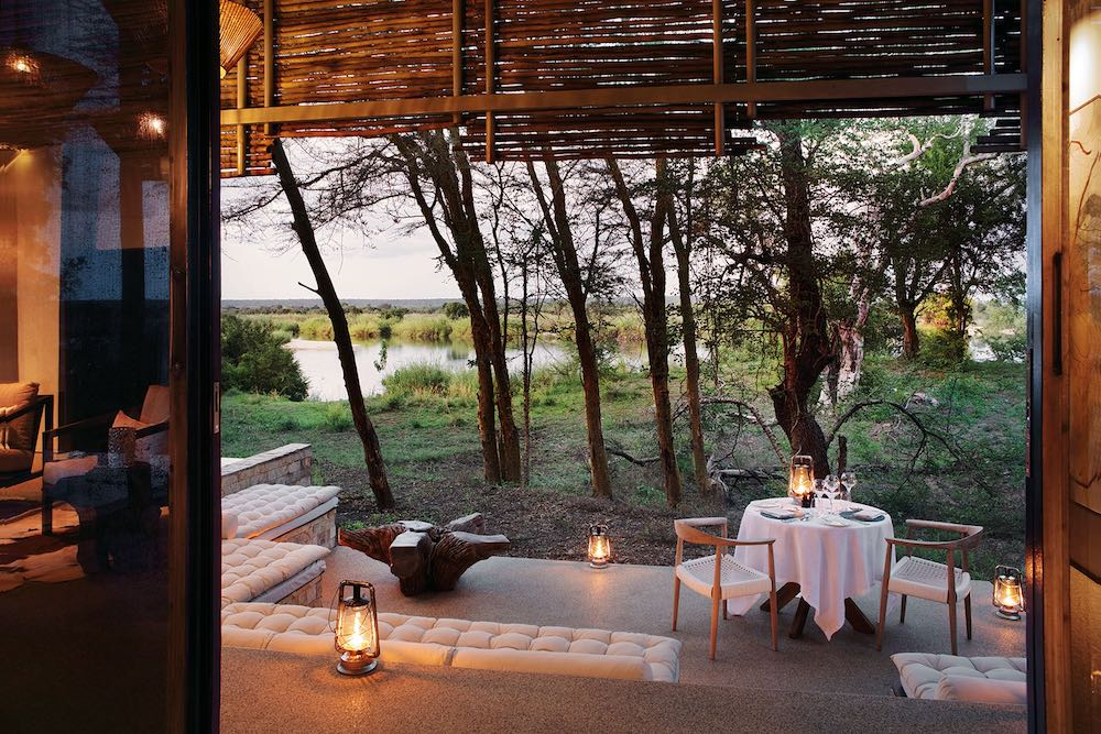 private dining at Matetsi