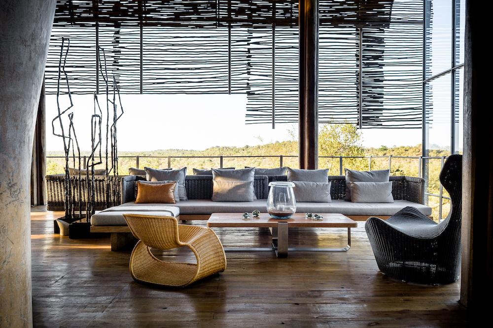 Stunning design at Singita Lebombo Lodge