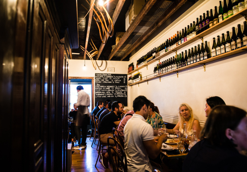10 William St wine bar in Paddington