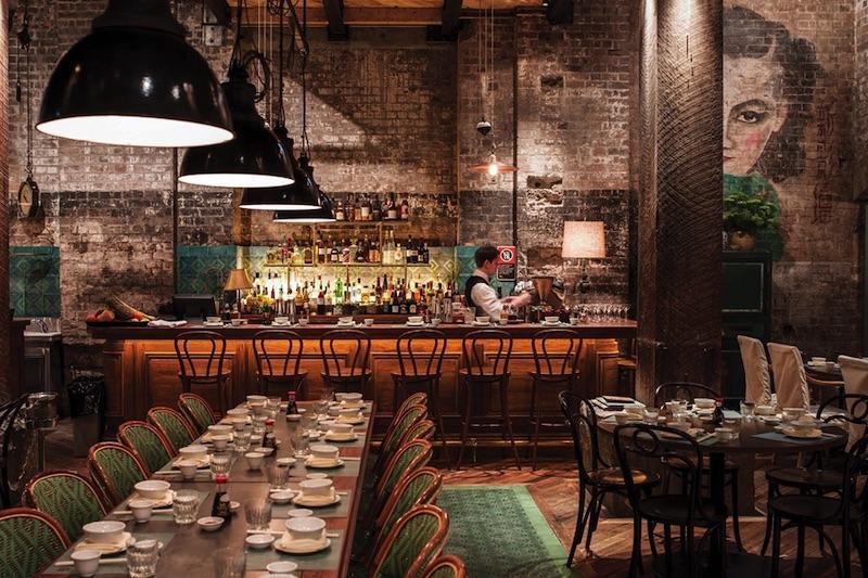 Mr Wong restaurant in Sydney