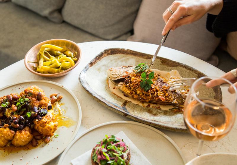 Levantine food at Nour in Sydney