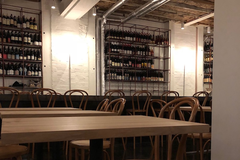 Poly wine bar in Surry hills