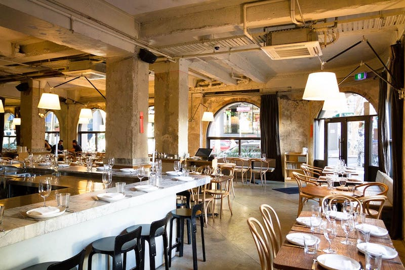 The Apollo restaurant in Sydney