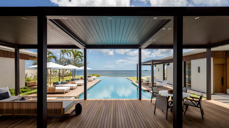the stunning beachfront villas at Silversands Grenada