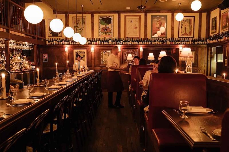 Restaurant Hubert in Sydney