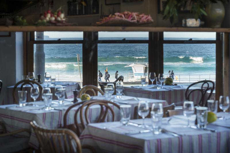 Sean's Panorama restaurant in Bondi