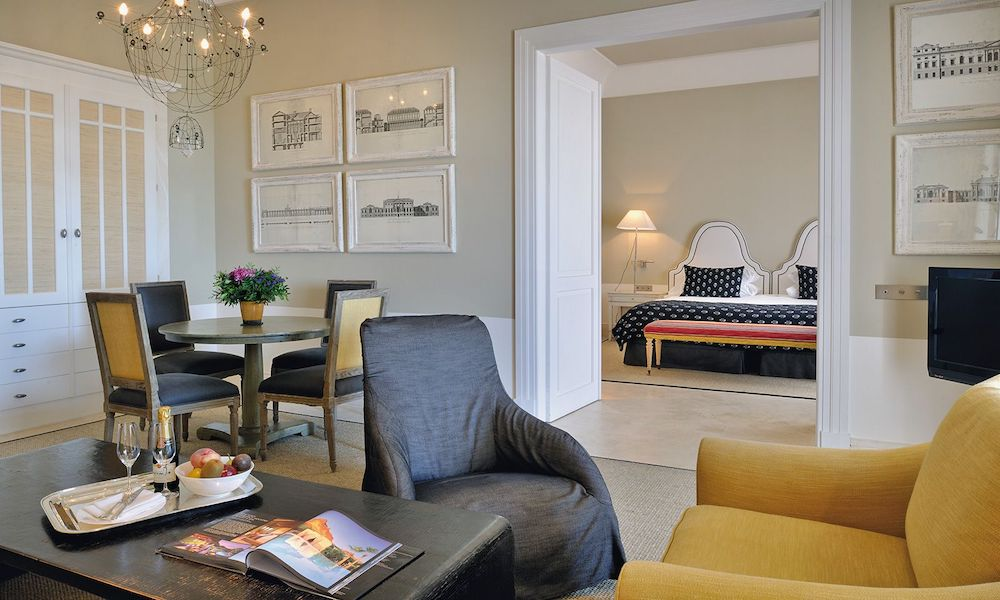 The executive suite  at Finca Cortesin