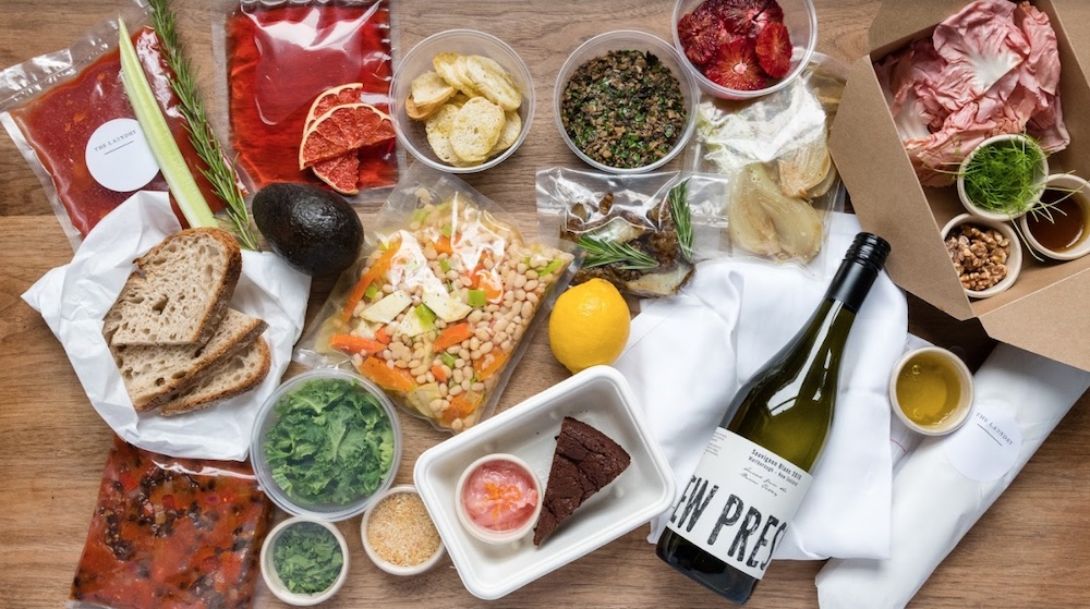 The laundry brixton's at home dinner meal kit