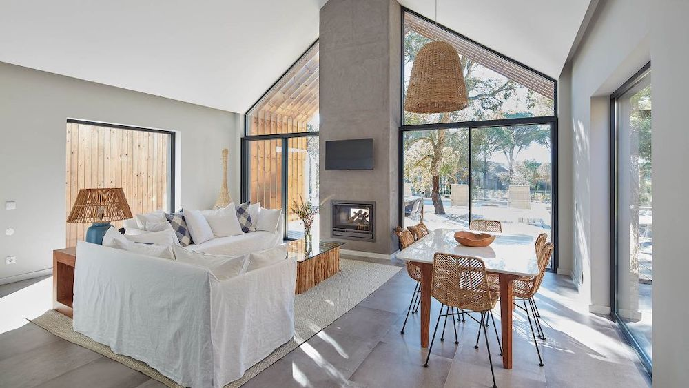 The bedrooms at Sublime Comporta