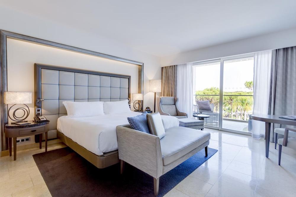 the bedrooms at Conrad Algarve