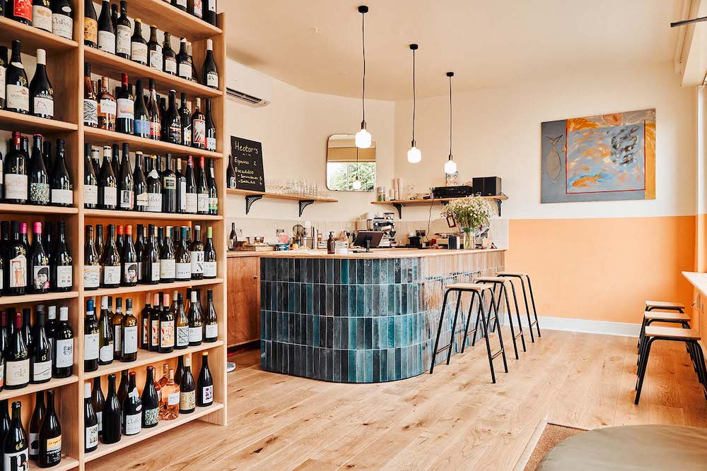 Hector's wine bar and shop