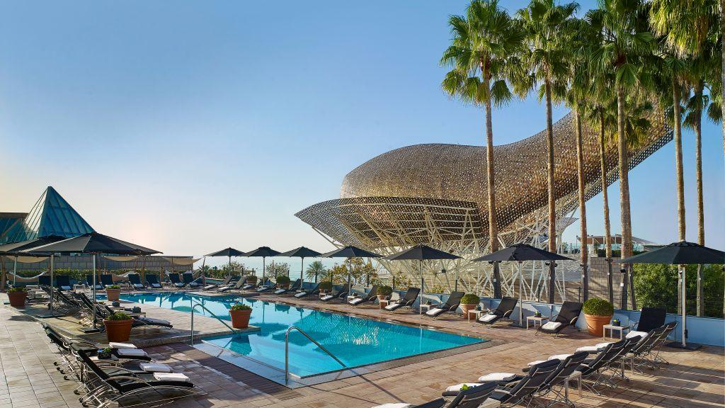 Hotel Arts, a Ritz Carlton hotel in Barcelona